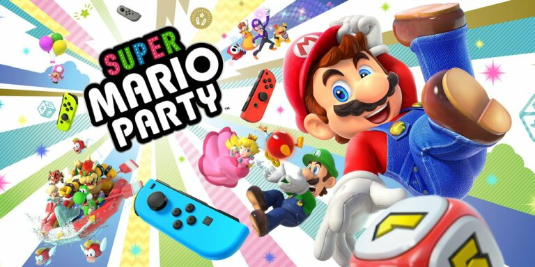 Super Mario Party para Nintendo Switch. Juego imprescindible para la cuarentena
