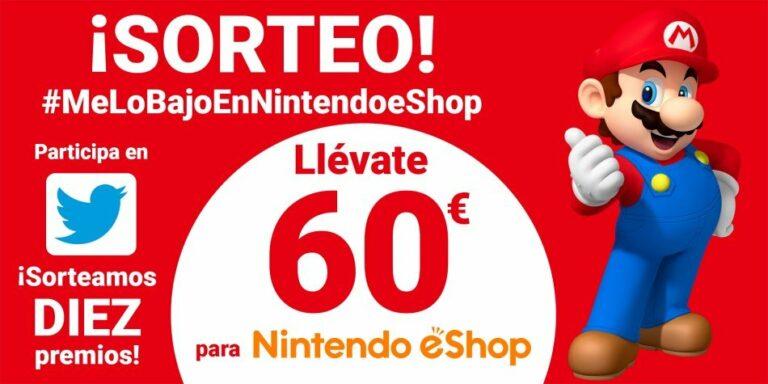 Nintendo sortea 10 premios de 60€ a quienes publiquen un tweet