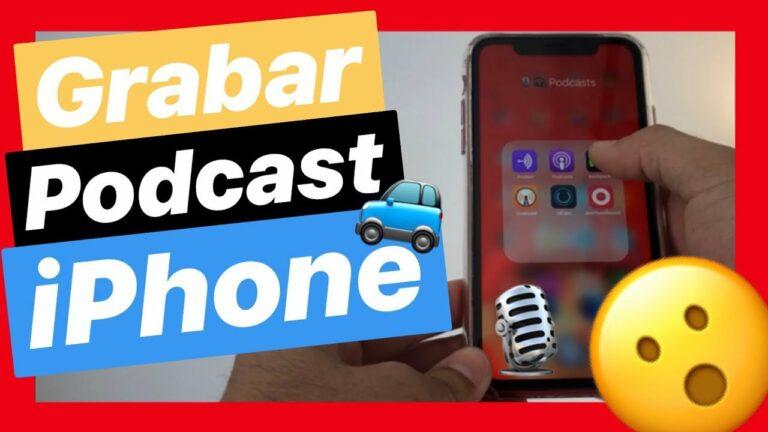 Grabar podcast desde el coche