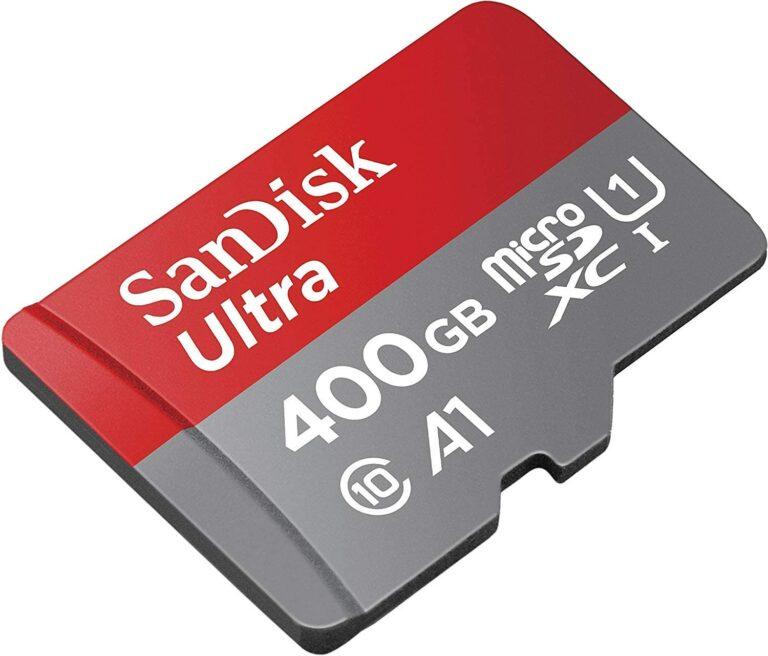 Vuelve el chollo de la MicroSD de 400GB