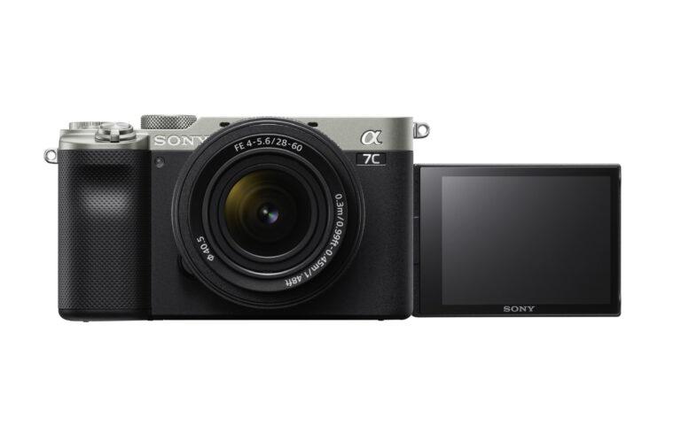 Sony presenta la cámara Alpha 7C y un nuevo objetivo con zoom