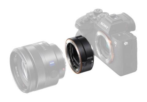 Sony anuncia el nuevo adaptador LA-EA5 para objetivos con montura tipo A